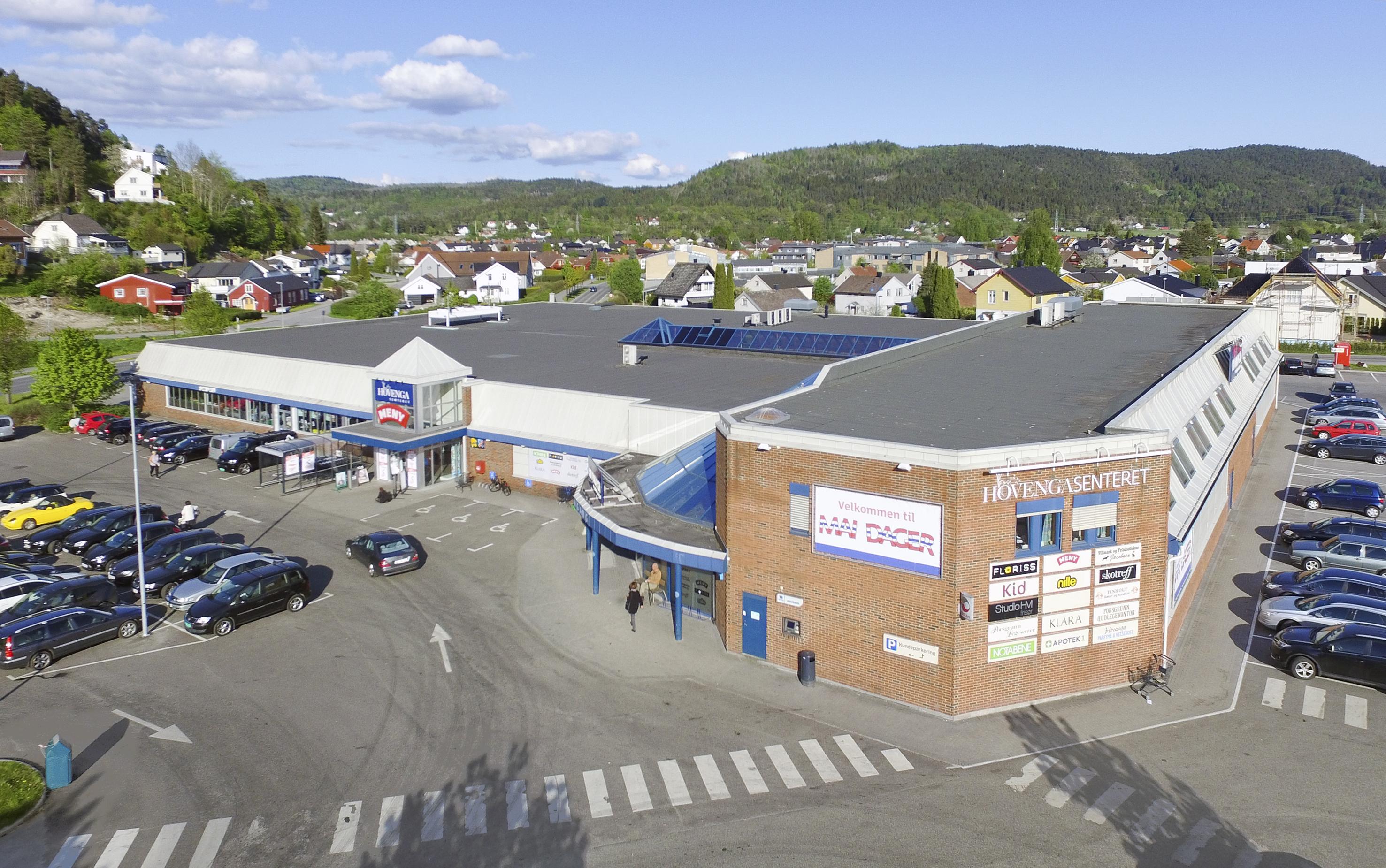 Skotreff på Hovengasenteret i Porsgrunn